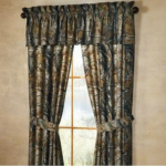 Mossy oak real tree man cave camo curtains drape Four panels 42x62 and two match...
