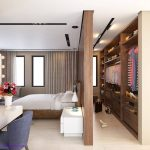 Ways to incorporate walk-in wardrobes in small bedroom
