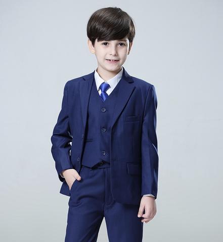 Navy 3-piece Suit – Hip Kids Boutiq