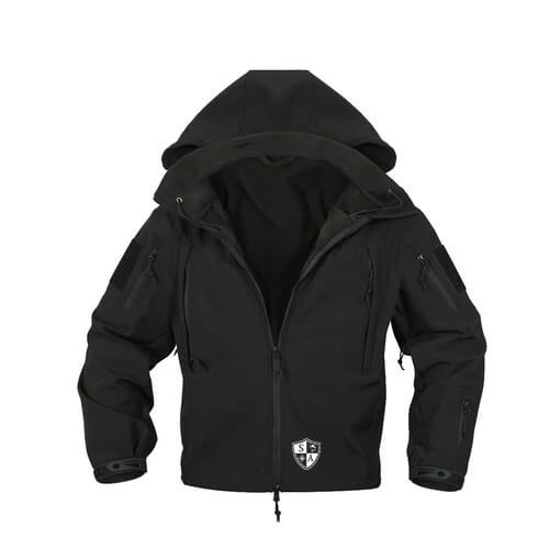 Black Tactical Jacket | Winter Coat | All Weather Jacket - SA Te