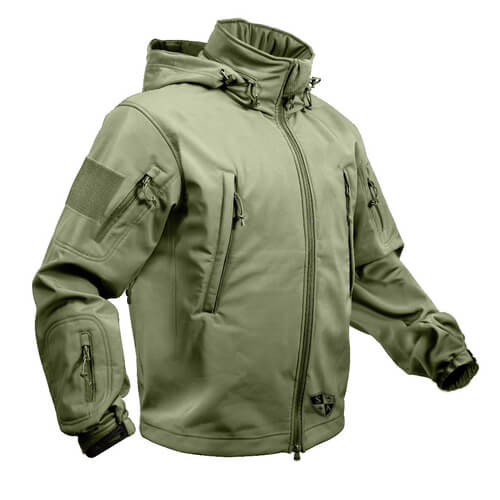 Olive Drab Tactical Jacket | Winter Coat | All Weather Jacket - SA .