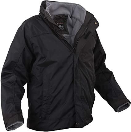 Amazon.com : Rothco All Weather 3-in-1 Jacket : Sports & Outdoo