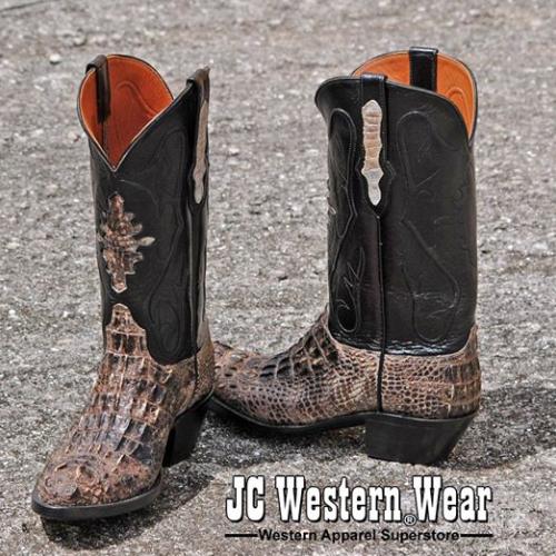 Black Jack Alligator Hornback Boot | Cowboy Boots & Western Boots .