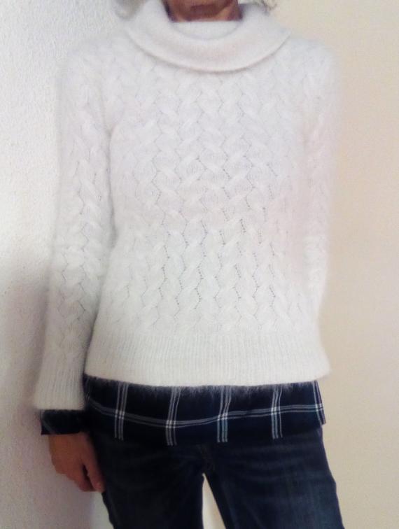 100% ANGORA sweater   Et