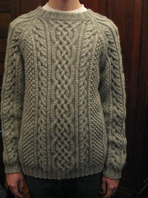 Ravelry: Design D - Unisex Aran Sweater pattern by Sirdar Spinning .