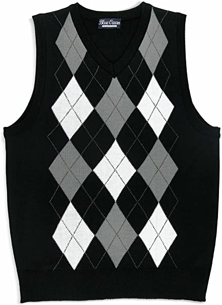 Amazon.com: Blue Ocean Kids Argyle Sweater Vest: Clothi