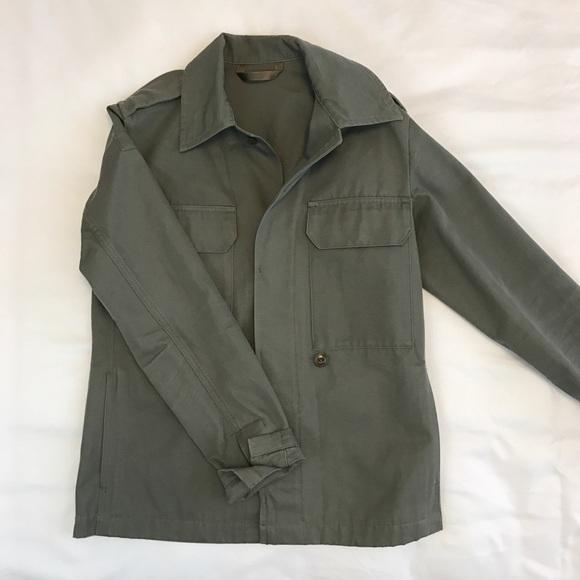 A.P.C. Jackets & Coats | Apc Duke Army Jacket Sz 34 | Poshma