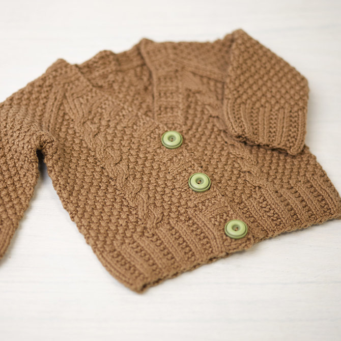 Valley Yarns 776 Maple Baby Cardigan at WEBS | Yarn.c
