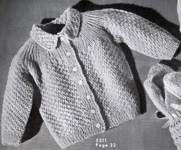 Baby Sweater Pattern #5311 | Knitting Patter