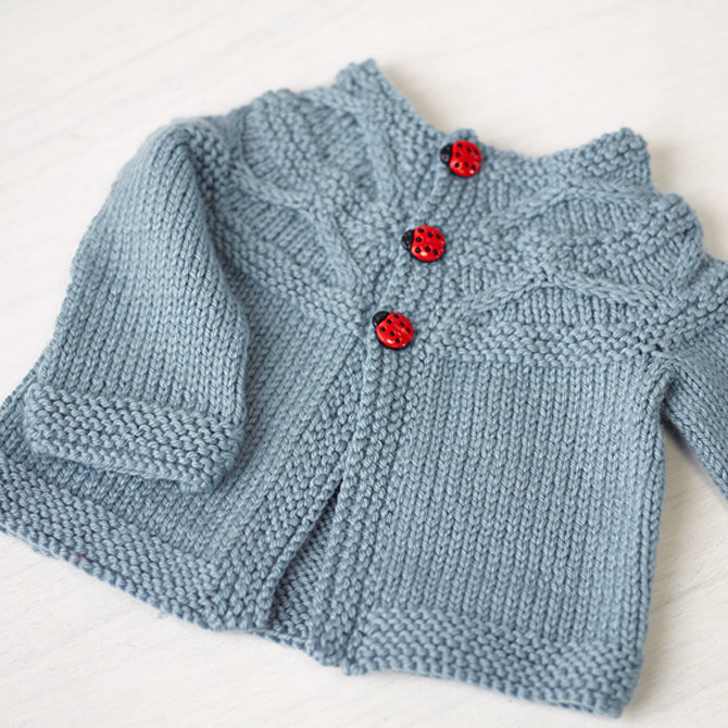 Valley Yarns 774 Harper Baby Cardigan at WEBS | Yarn.c