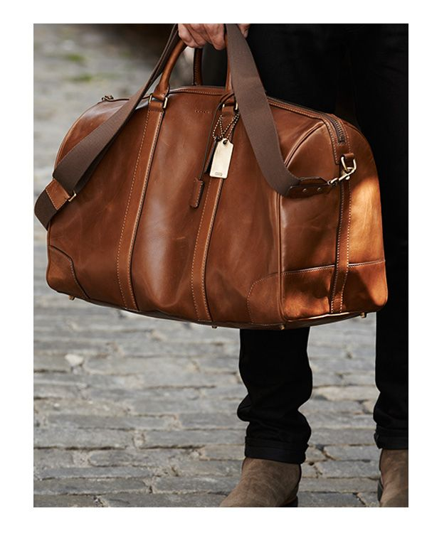 Men's Travel Bags | Mens travel bag, Leather duffle bag, Travel .