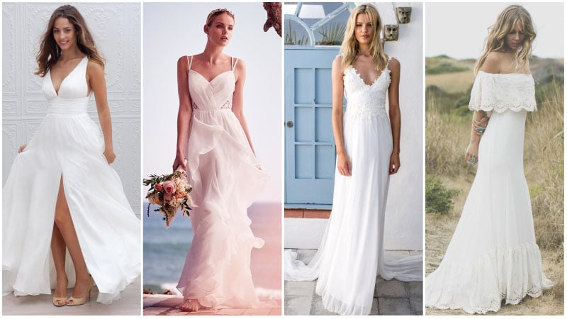 40 Unforgettable Beach Wedding Dresses for Your Special D