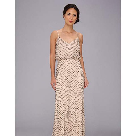 Adrianna Papell Dresses | Beaded Gown 6 | Poshma