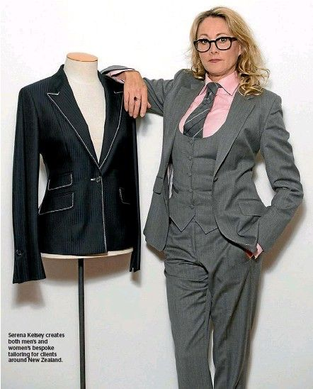 Image result for women's bespoke suit | Suits for women, Wom