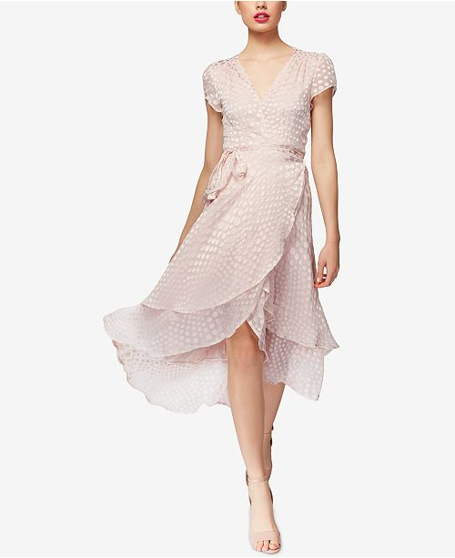 Betsey Johnson Clip-Dot Wrap Dress & Reviews - Dresses - Women .