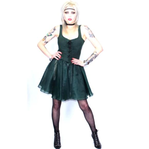 Betsey Johnson Dresses | Vintage Runway Corset Dressrare | Poshma