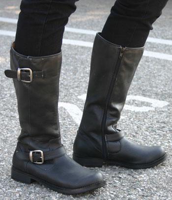 womens biker boots 03182430 | The Cute Styl