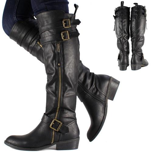 women biker boots 3006145830 | The Cute Styl