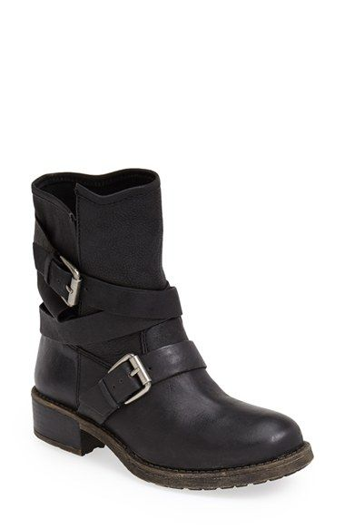 Women's Boots | Boots, Black biker boots, Motorcycle boots outf