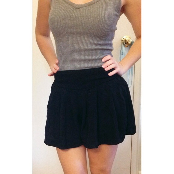 Xhilaration Shorts | Flowy Black High Waisted | Poshma