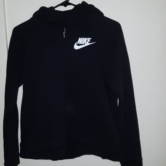 Nike Tops | Black Hoodie | Poshma