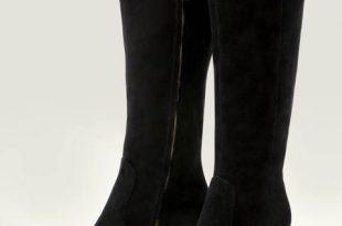 Kenton Knee High Boots - Black | Boden
