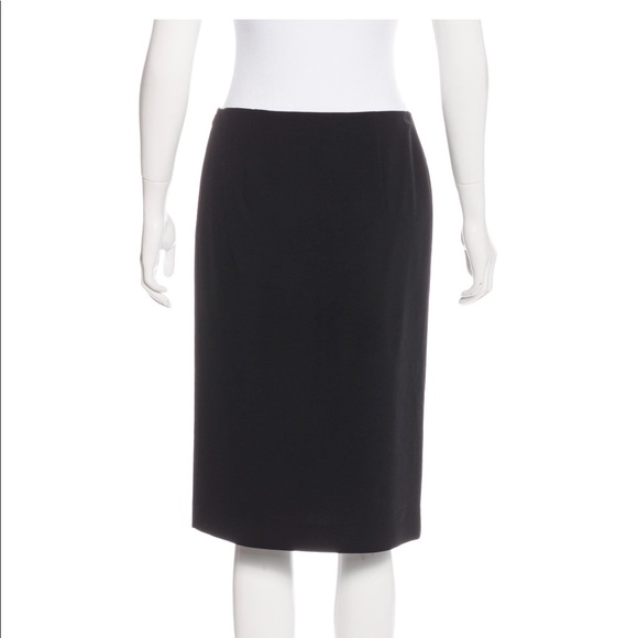 Prada Skirts | Black Pencil Skirt | Poshma