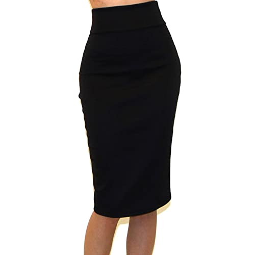 Black Pencil Skirts: Amazon.c