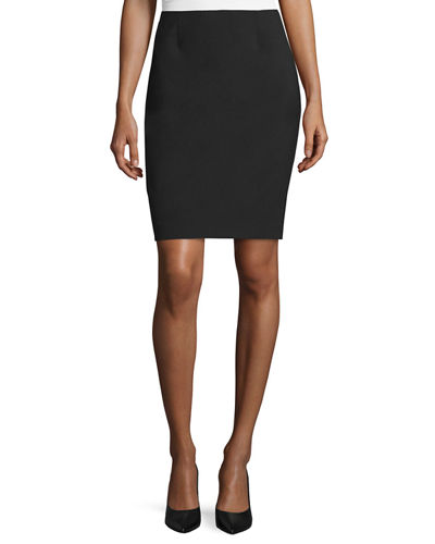 Black Pencil Skirt | Neiman Marc