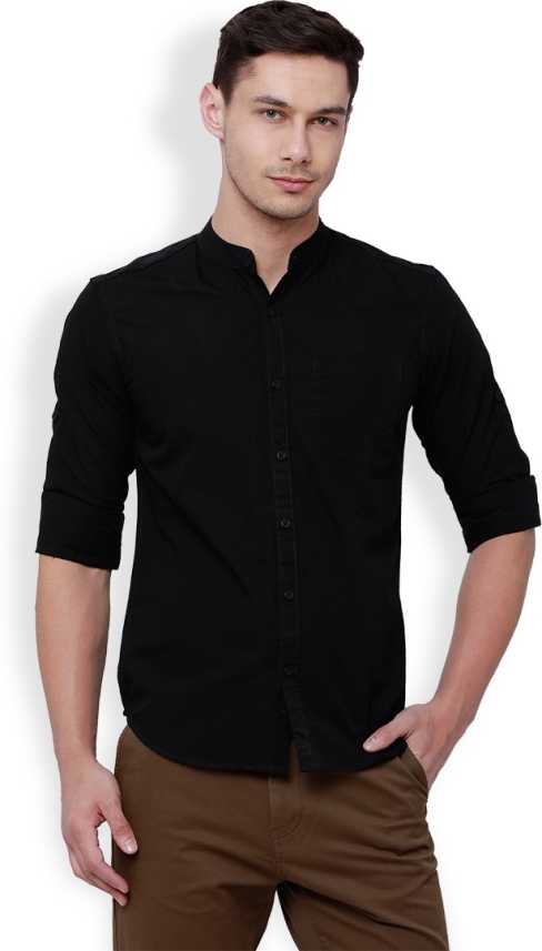 faea916c52d black shirt for mens online is shirt - shadeswithstyle.c