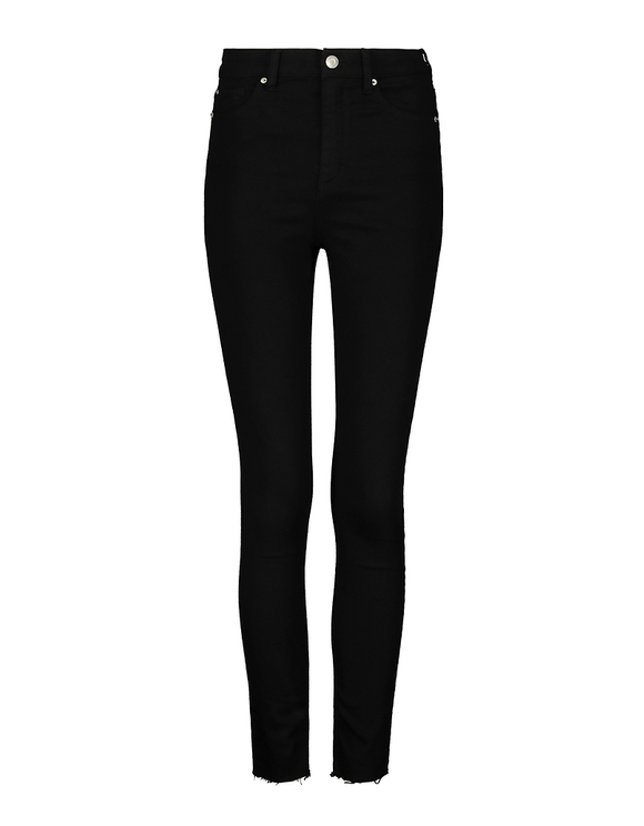Black Very High Waist Skinny Pants | TALLY WEiJL Online Sh