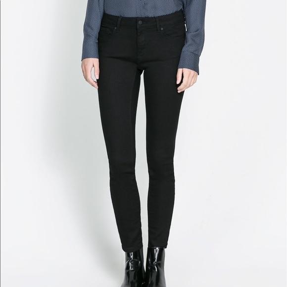 Zara Jeans | Black Skinny Pants | Poshma