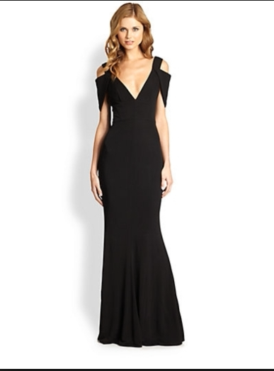 Perfect dress for a guest of a black tie wedding, by ABS Allen .
