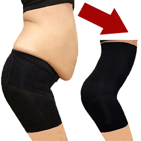 Body Shaper High Waist Control Pants Postpartum Abdomen Panties .