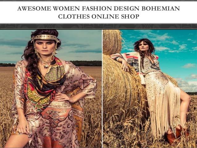 Awesome women fashion design bohemian clothes online sho