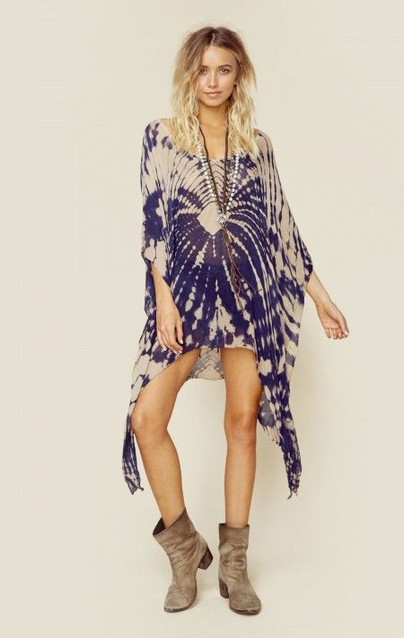 Blue Life New Bohemian Clothes V-neck Cape Cool | Fashion .
