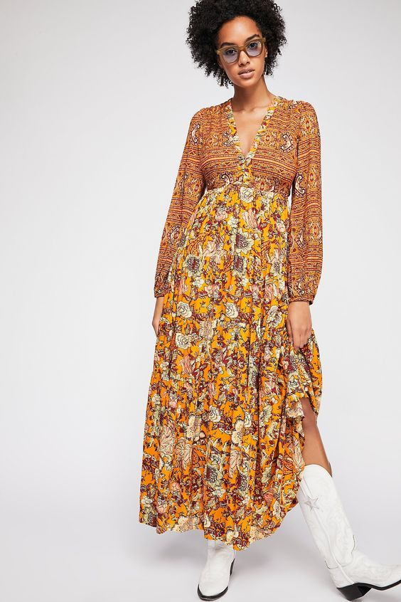 15 Pretty Boho Dresses Perfect for Fall | Who What We