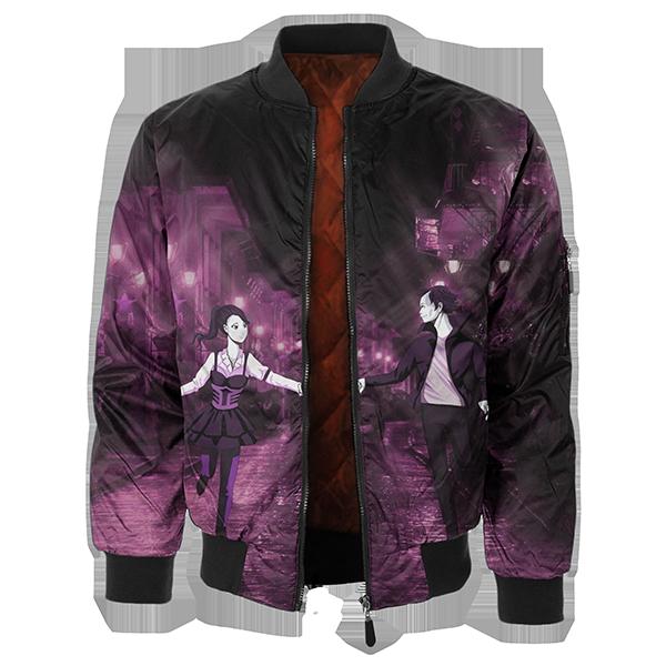 Anime Rabusutori Bomber Jacket — Fresh Hoo