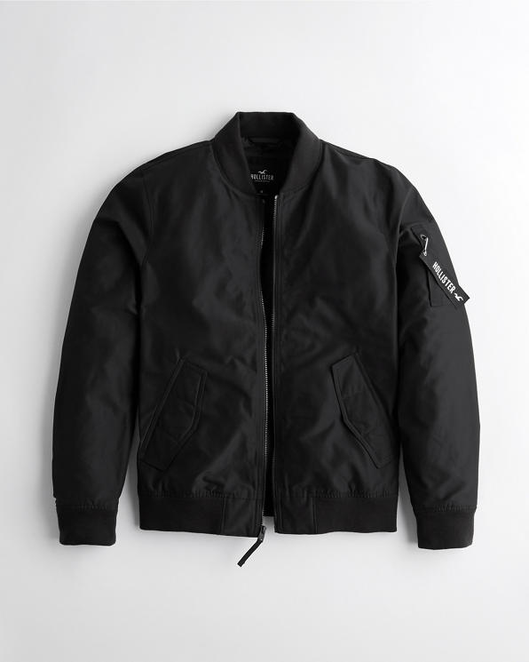 Guys Military Bomber Jacket | Guys Jackets & Coats | HollisterCo.c