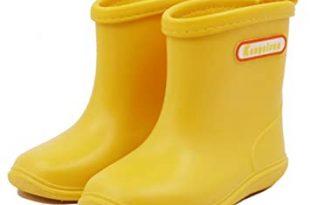 Amazon.com: Babys Rain Boots Children Waterproof Shoes for Boys .