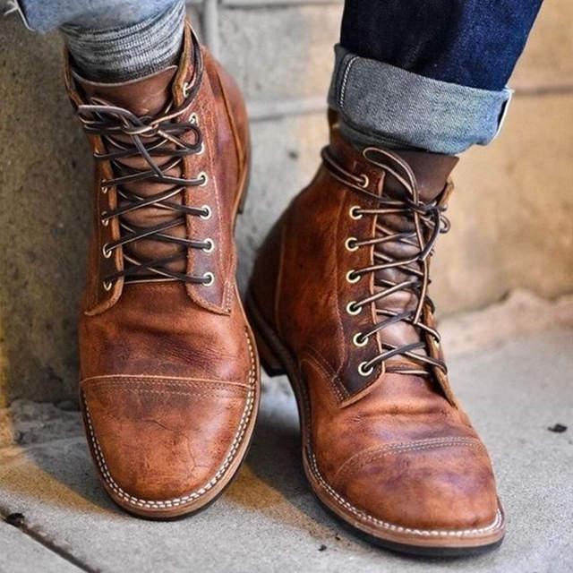 CIMM Brand 2018 Winter Shoes Men Leather Boots Men Fashion .