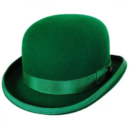 Green Bowler Hats at Village Hat Sh