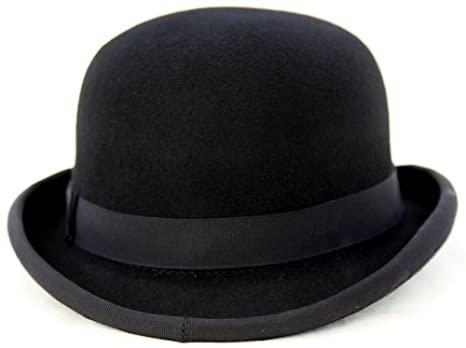 Amazon.com: Stylish British 100% felt bowler hat - US size 7 .