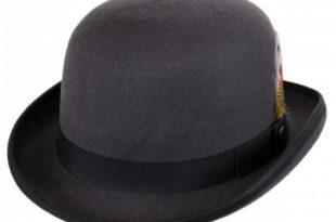 Jaxon Hats English Wool Felt Bowler Hat Derby & Bowler Ha