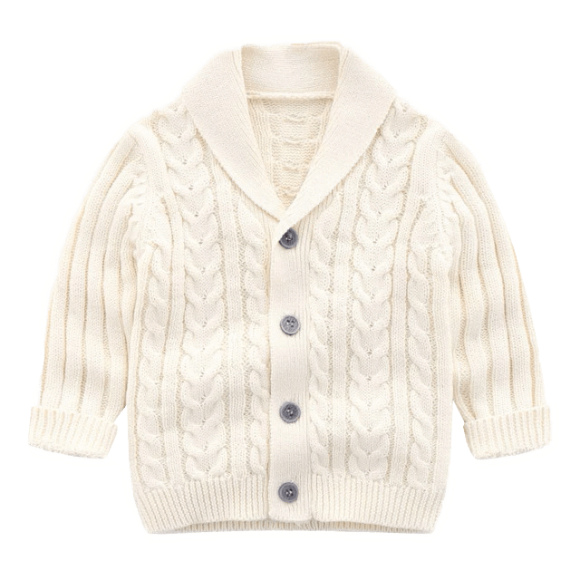 Boys Cardigan Sweater – Petite Bel