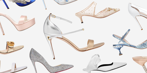 66 Best Wedding Shoes of 2020 - Designer Bridal Heels and Fla