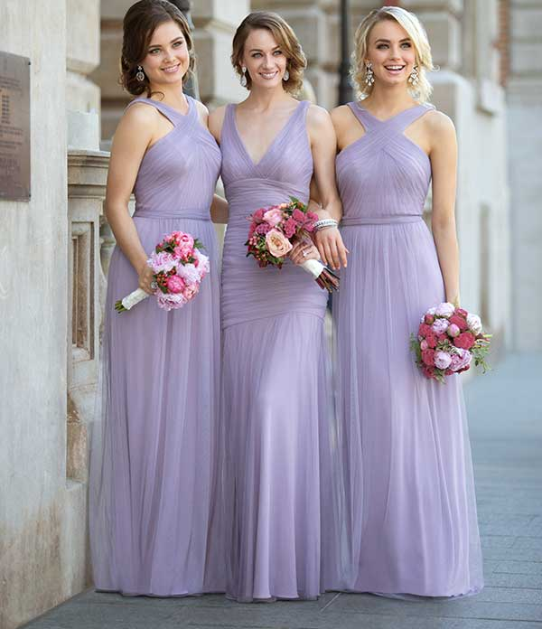 Long Bridesmaid Dresses | Sorella Vita Bridesmaid Gow
