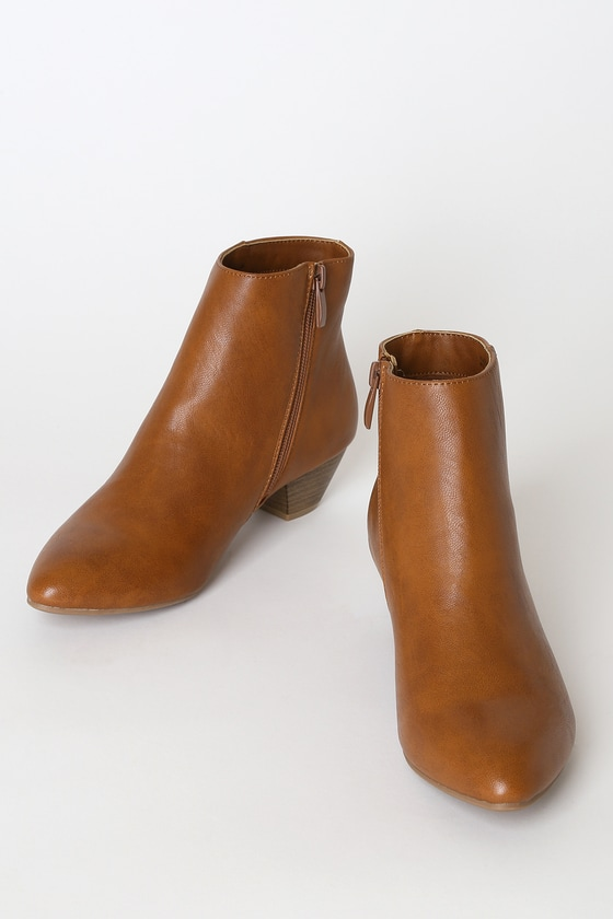 CL by Laundry Abrie - Brown Ankle Boots - Brown Booti