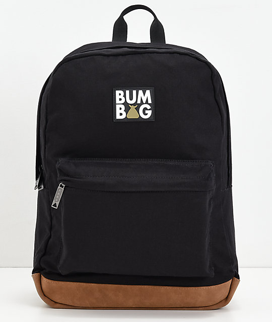 Bumbag Scout Black & Gold Backpack | Zumi