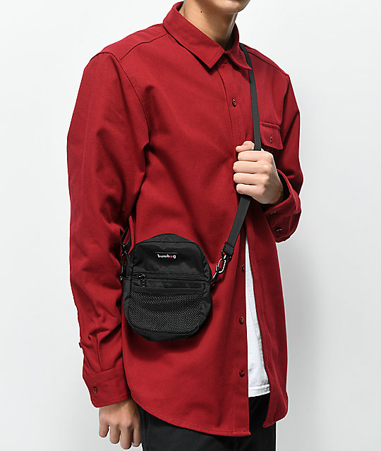 Bumbag Shaolin Black Shoulder Bag | Zumi